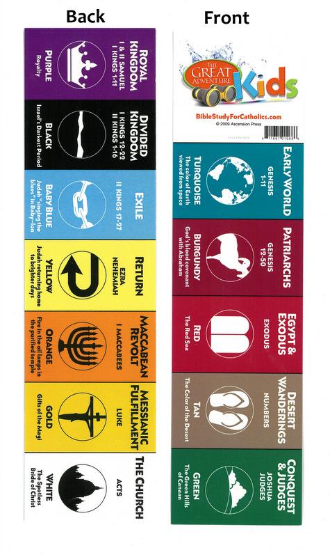Great Adventure Bible Timeline Bookmark