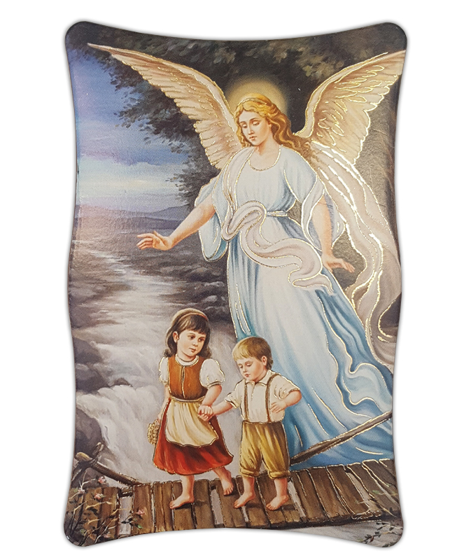 plaque plastic guardian angel plaques pictures general pleroma christian supplies. Black Bedroom Furniture Sets. Home Design Ideas