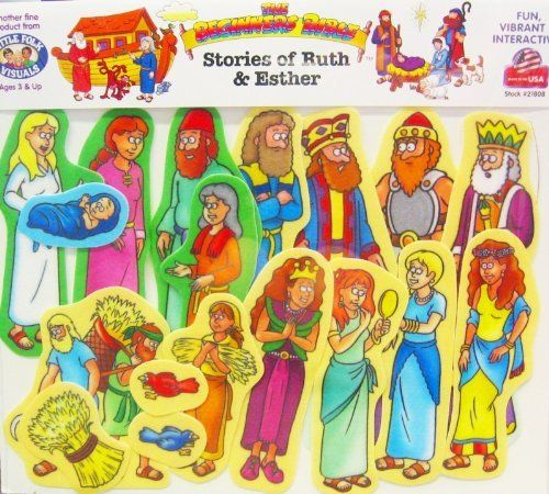 The Beginner's Bible Felt: Stories of Ruth and Esther ...